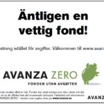 Avanza Zero firar 10 år