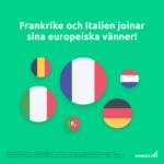 Nyhet! Nu lanserar vi aktiehandel i Frankrike & Italien