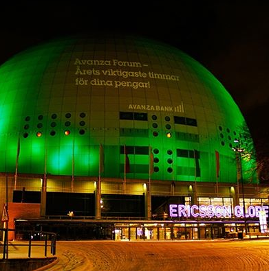 Forum globen utsidan