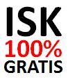 ISK 100 proc gratis