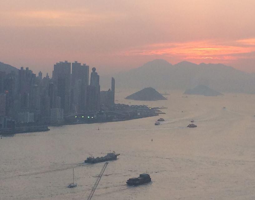 Hong kong bukten